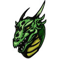 Dragon 5 machine embroidery design