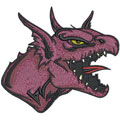 Dragon 9 machine embroidery design