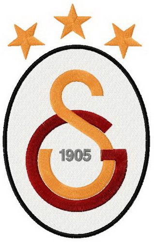 Galatasaray S.K. logo embroidery design