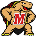 Maryland Terrapins logo machine embroidery design
