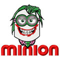 Minion joker embroidery design