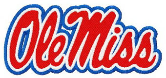 Free Ole Miss Embroidery Design