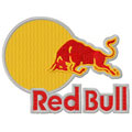 Red Bull logo 2 machine embroidery design