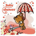 Teddy Bear Baby shower machine embroidery design