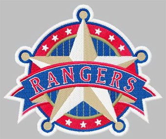 Texas Rangers 2 machine embroidery design