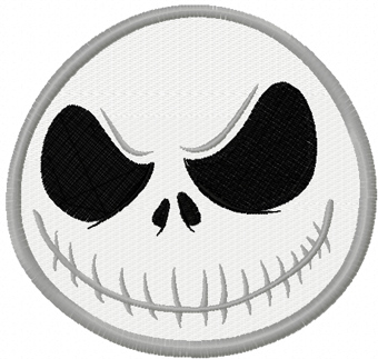 Jack Skellington 3 machine embroidery design