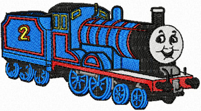 Thomas the Tank Engine 3 machine embroidery design