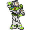 Toy Story Buzz machine embroidery design