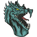 Dragon 6 machine embroidery design