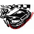 Free embroidery design Tribal Racing - *Live on all 100... Die young*