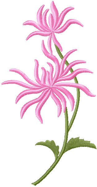 New free flowers machine embroidery - News - Free machine