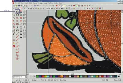 Step By Step Digitizing Tutorial Mickey Mouse Helloween Embroidery Design